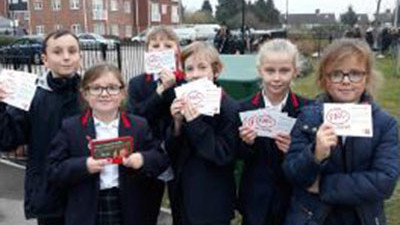 Our new generation of traffic wardens!