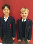 Madison and Alfie Year 4