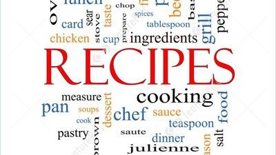 Send us your recipes!